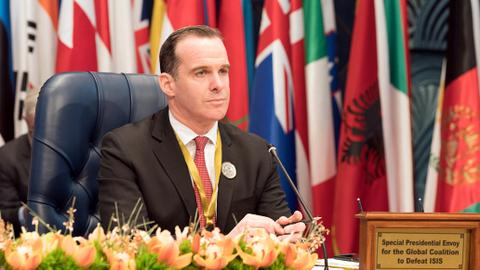 Was anti-Daesh coalition leader Brett McGurk the new Lawrence of Arabia?