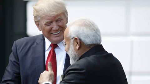 Trump mocks India's Modi for library in Afghanistan