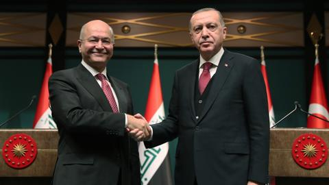 Turkey, Iraq vow greater cooperation in fight against terrorism