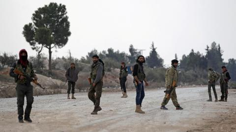 Fighting among rebels kills dozens in northern Syria - SOHR