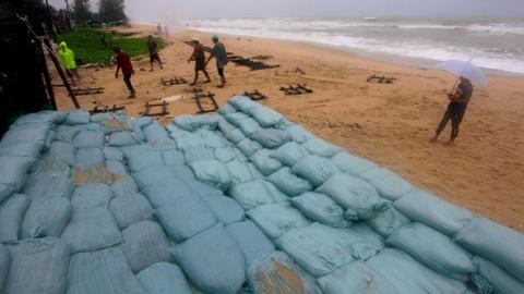 One dead as Storm Pabuk hits southern Thailand