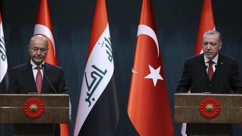Iraq-Turkey relations are moving in a positive direction