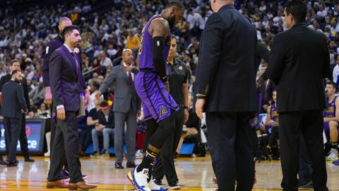 LeBron to miss at least three more games