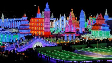 China kicks off month-long winter festival in northern city of Harbin