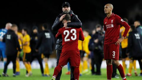 Liverpool knocked out of FA Cup by Wolves