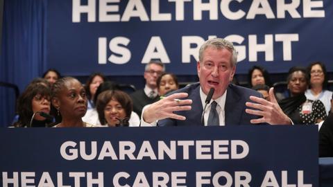 New York City launches $100m universal health insurance program