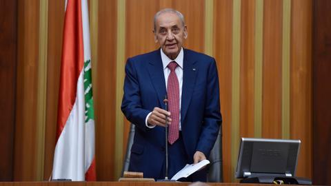 Lebanon's Berri urges postponement of Arab Economic Summit, MPs say