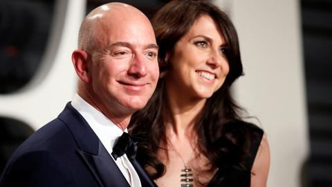 World's richest man Jeff Bezos and wife MacKenzie divorce