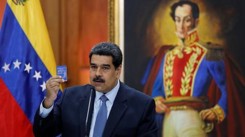 Venezuela's President Nicolas Maduro sworn in for second term