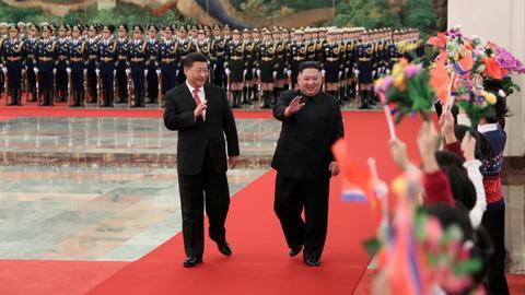 China's Xi hopes US, North Korea will 'meet halfway'