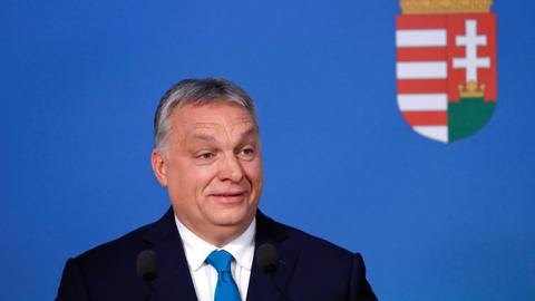 Hungary PM hails anti-immigrant Italian-Polish effort