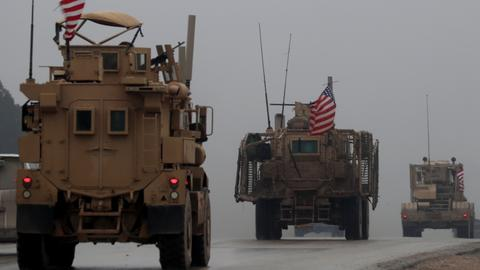 US military begins to pull equipment out of Syria - Pentagon