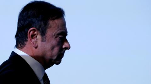 Nissan files criminal complaint against former CEO Ghosn