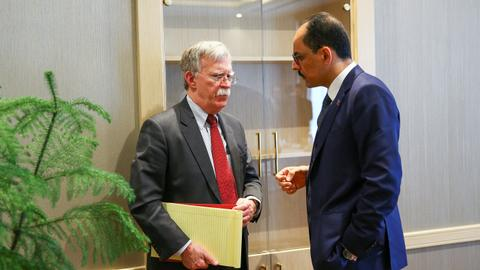 Talks between US and Turkey on Syria will continue next week - Bolton