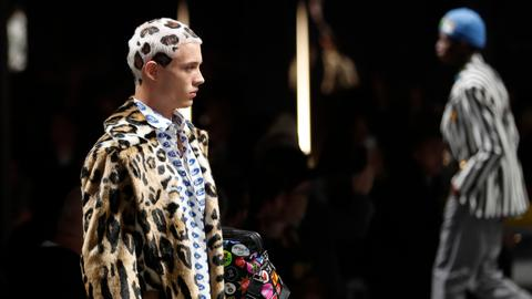 Versace offers daring masculinity, Dolce&Gabbana go elegant