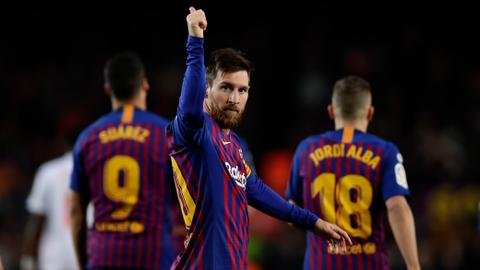 Messi scores record 400th goal in Spanish league