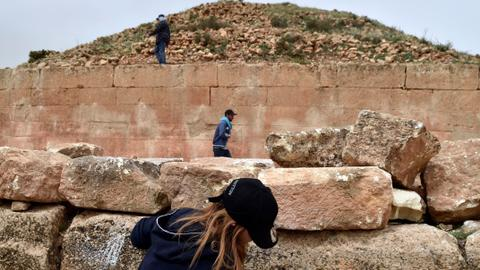 Algeria's ancient pyramid tombs still shrouded in mystery