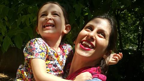 Jailed British-Iranian aid worker begins hunger strike