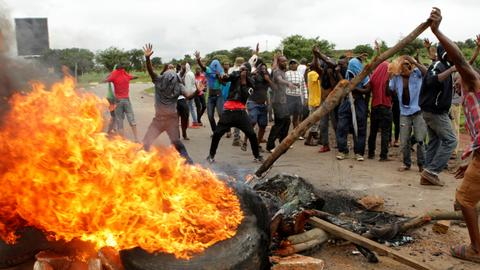 Zimbabwe's angry generation has nothing to lose