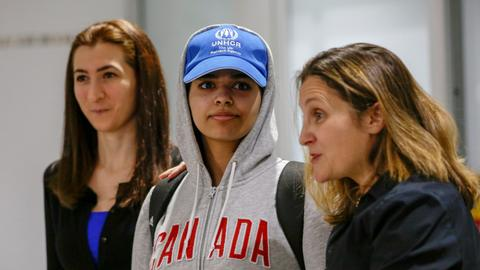 Coming to Canada 'worth the risk,' says Saudi teen refugee