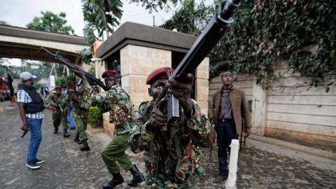 'Coordinated' attack at upscale complex in Kenya's capital