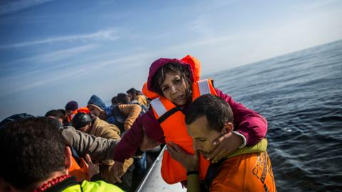 Refugees could travel to Europe or America by air. What's stopping them?