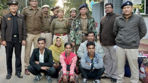 At least 1,300 Rohingya flee India for Bangladesh