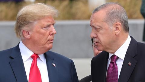 Erdogan, Trump discuss US Syria withdrawal over phone