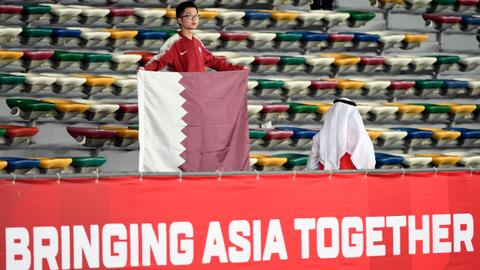 Asia Cup: Qatar defeats Saudi with support from unusual fans