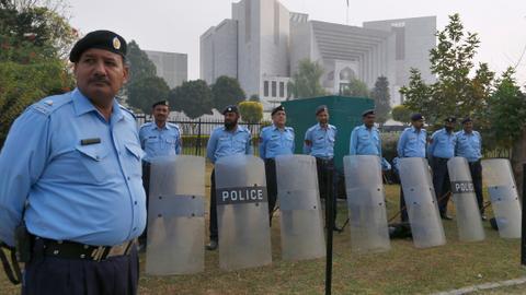 Pakistan's 'poetic justice' takes oath, pledges reform