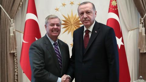 Erdogan, Graham discuss Syria 'safe zone', attend Fazil Say's concert