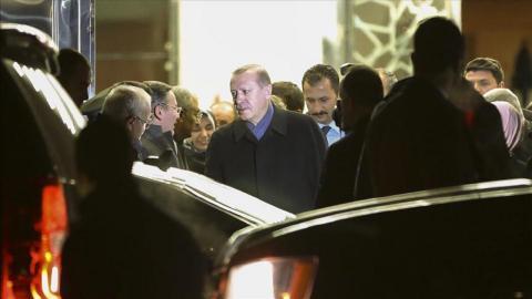 Erdogan seeks consensus with Trump on regional issues