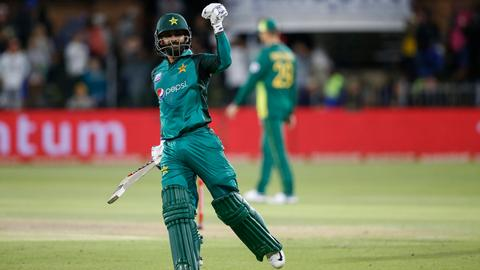 Pakistan beat South Africa by 5 wickets in first ODI