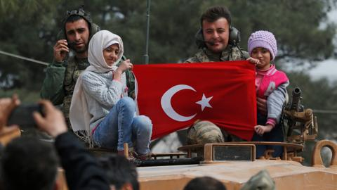 One year since Turkey launched Operation Olive Branch in Syria