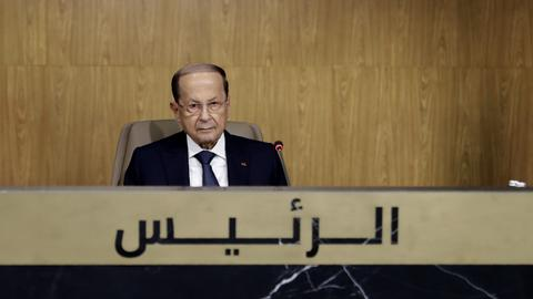 Lebanon's Aoun calls for Syrian refugee returns