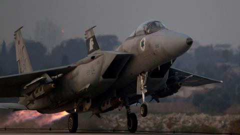 Israel says it carried out air strikes on Iranian targets in Syria