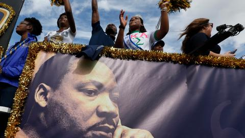 US marks MLK Day as concerns grow over racial divides
