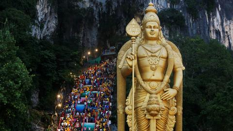 Hindus celebrate Thaipusam festival across Asia
