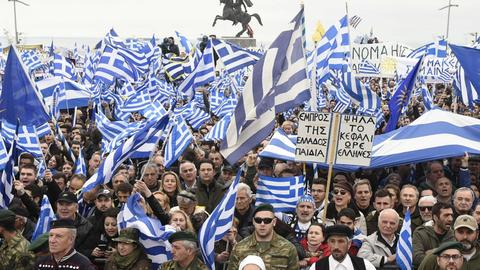 Is Greek nationalism threatening the Macedonian name change agreement?