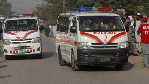 Bus-truck collision kills 26 in southwest Pakistan