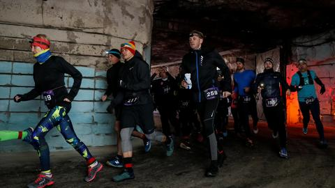 Moldova hosts 10 km race in world's largest wine cellar