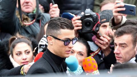 Ronaldo accepts fine for tax evasion, gets two-year suspended jail sentence