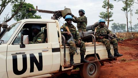 Are the UN peacekeepers in Africa sitting ducks to terror groups?