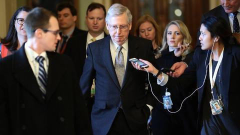 US Senate sets up showdown votes on shutdown plans