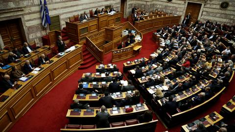 Greek Parliament debates Macedonia deal as opposition rumbles