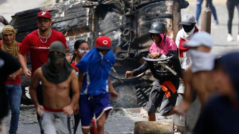 Is the US trying to instigate a coup in Venezuela?