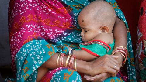 Newborn deaths fall in India after new initiative by government