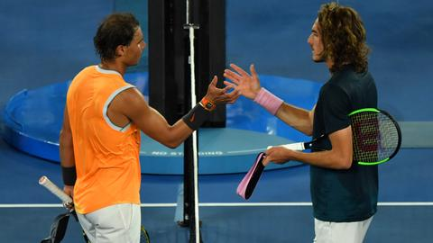 Nadal beats Tsitsipas to reach Australian Open final