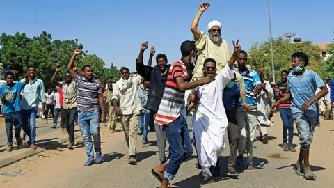 Sudan police fire tear gas as protesters attempt march on palace