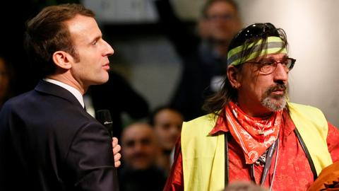 Can President Macron's Great National Debate calm the yellow vest movement?
